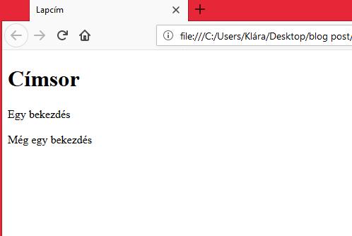 firefox html dokumentum