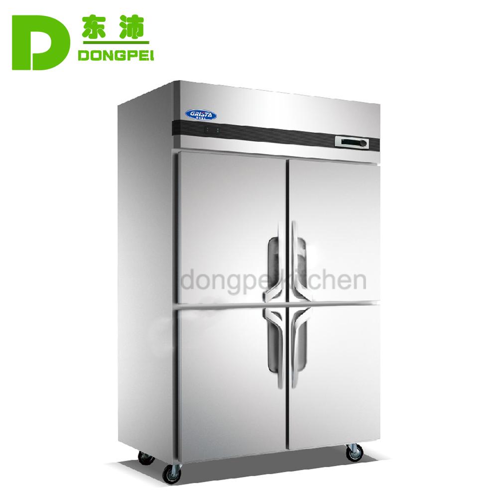 Upright Kitchen Refrigerator 4 Door Commercial