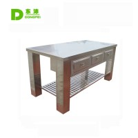 Stainless Steel Kitchen Work Table With Drawer Customized ...