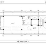 nhà phố tân cổ điển 40m2 4 tầng 1 tum NPCD1301-6