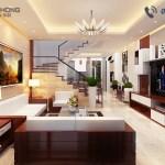 thiết kế chung cư NTCC1320-phòng khách