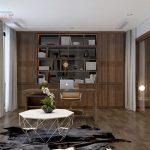 nội thất gỗ óc chó nhà lô