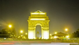 Light Decoration aaround India Gate