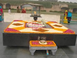 Raj Ghat - Tomb of mahatma Gandhi