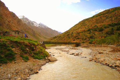 A River In Leh