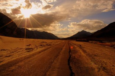 Sunset-in-leh