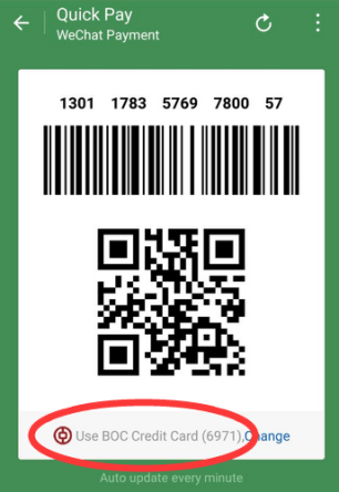 WeChat Pay QR Code