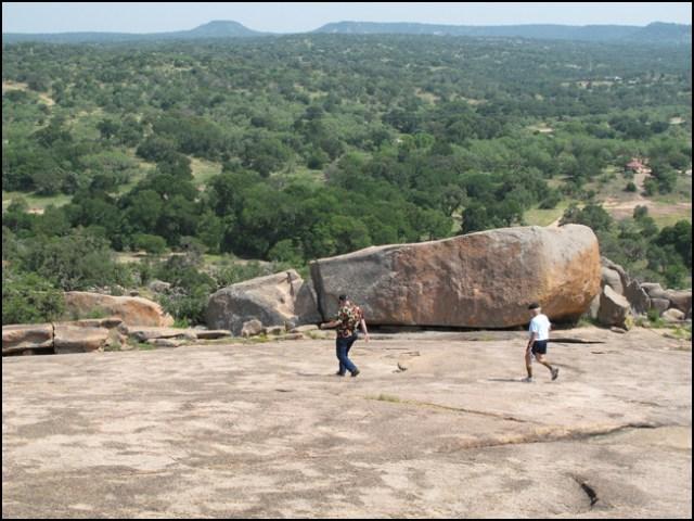 Don and DSF at Enchanted Rock