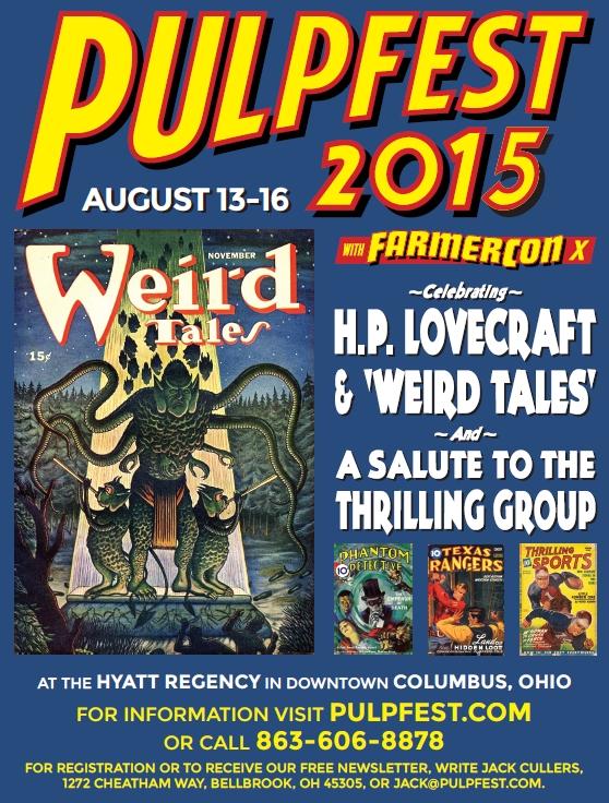 PulpFest 2015
