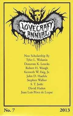 Lovecraft annual 7