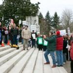 MoveOn Rally, Oregon State Capitol, Feb. 26, 2011.