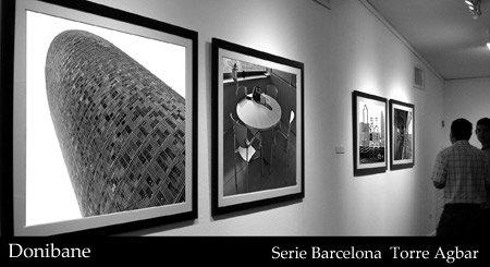 """Exposición de fotografías de Barcelona"" por Donibane"