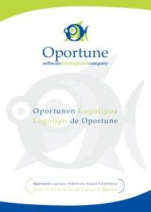 Diseño de Identidad Corporativa y Manual de Oportune, por Donibane