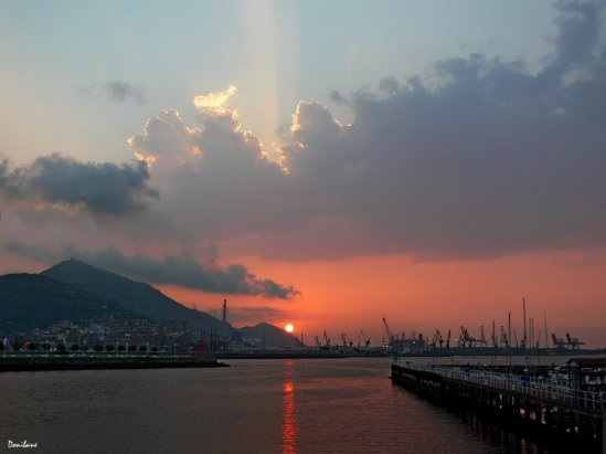 """Getxo´s Sunset"" by Donibane"