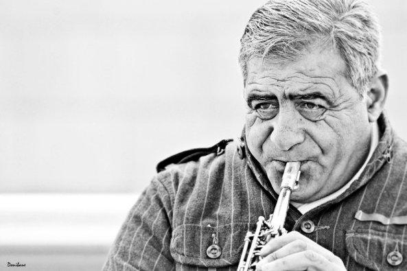 """""""Músicos callejeros en Bilbao"""" por Donibane"""