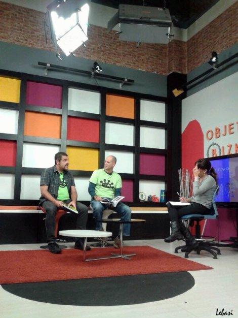 The Artshow Book N1 presentación Objetivo Bizkaia en Tele7