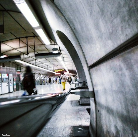 Metro Bilbao por Donibane