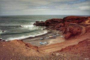 Playa de Lanzarote por Donibane