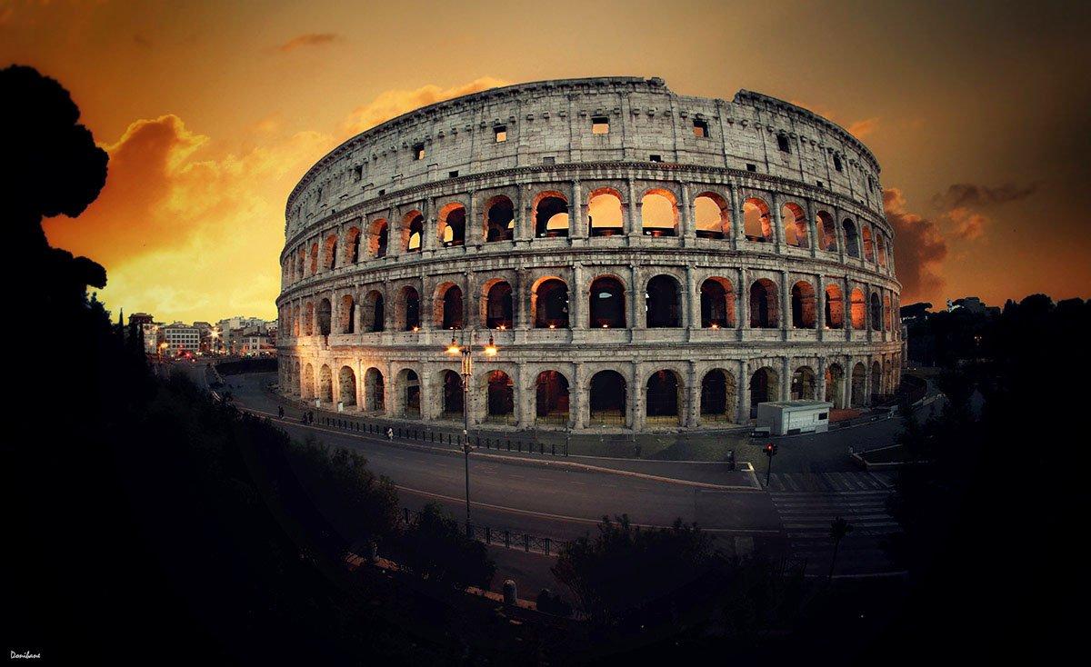 Coliseo Romano por Donibane