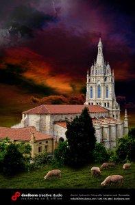Basílica de Begoña por Donibane