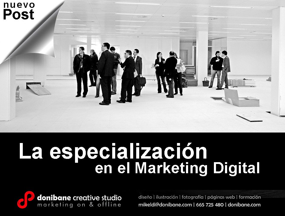 La especialización en el área del marketing digital