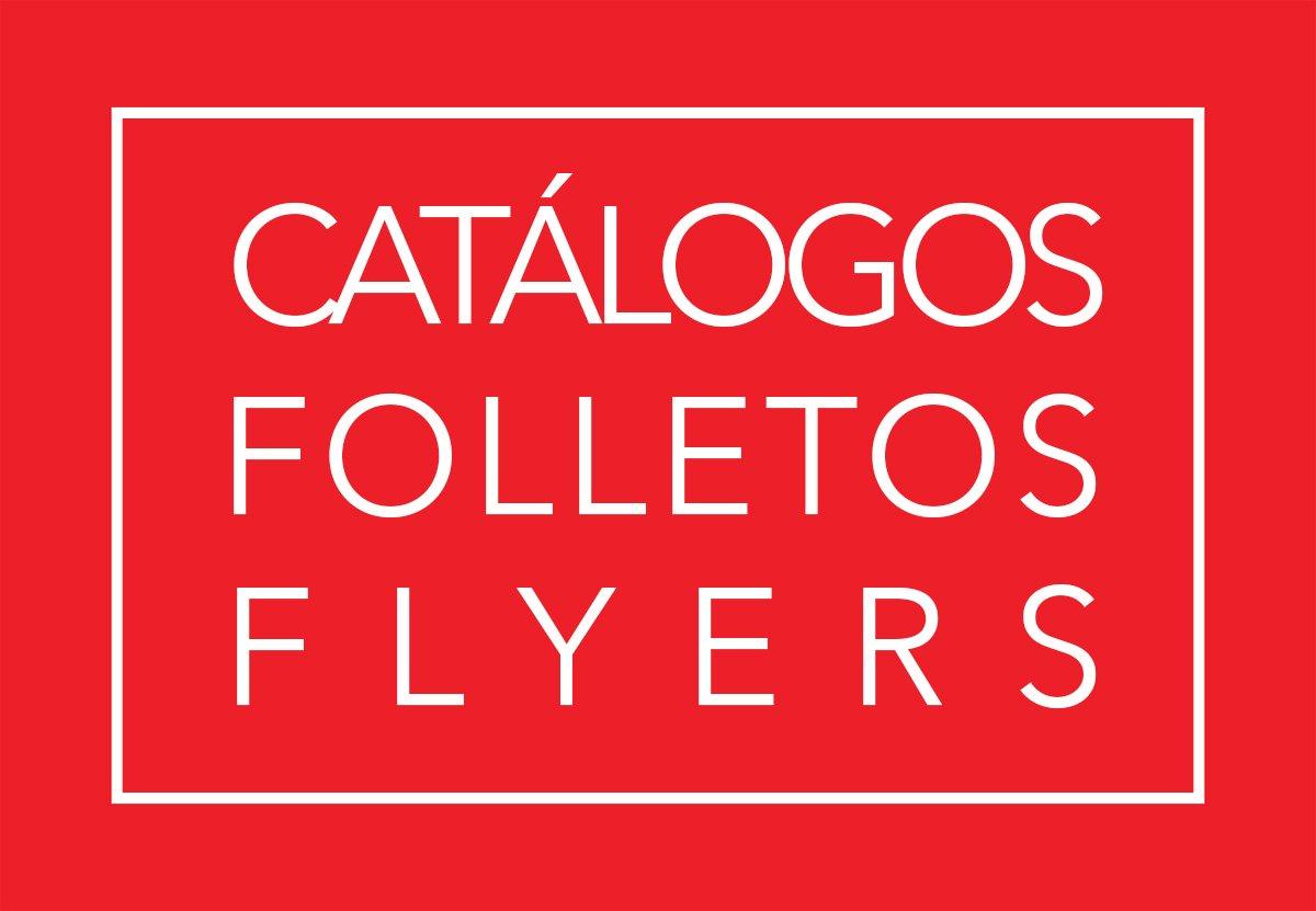catálogos, folletos, flyers por Donibane