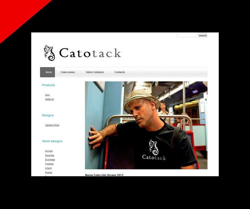 Catotack branding by Donibane