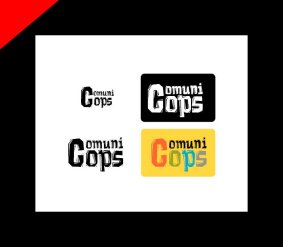 Comunicops diseño logotipo por Donibane