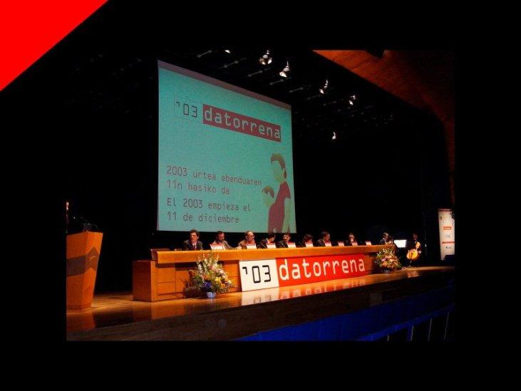 Congreso Datorrena por Donibane