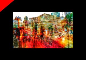 New York collage by Donibane