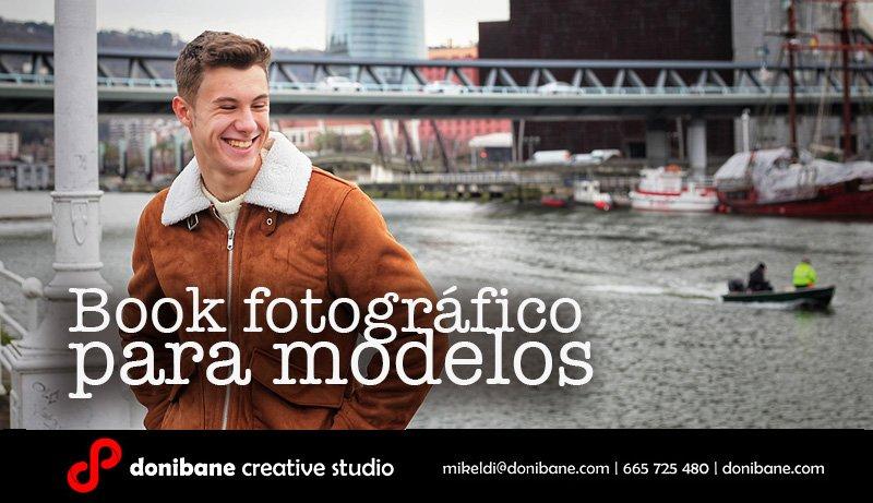 Book fotográfico para modelos por Donibane