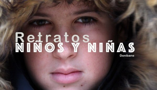 Retratos fotográficos de niños y niñas por Donibane