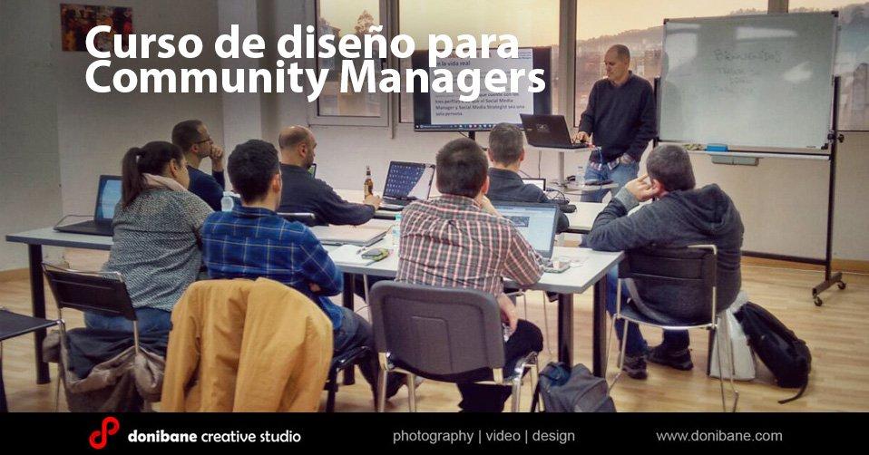 Curso de diseño para Community Managers