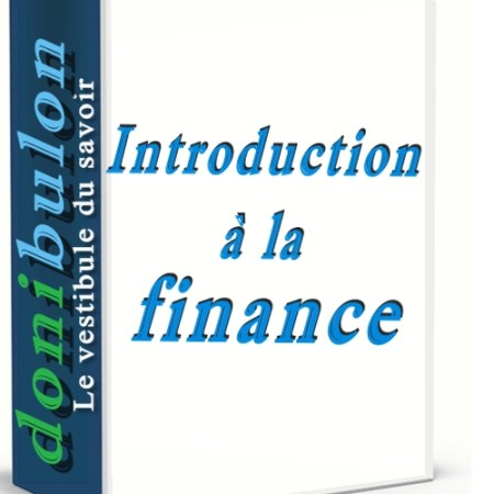 Introduction à la finance
