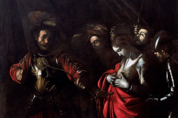 Zevallos palace and Saint Ursula martir by Caravaggio   Naples