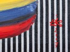 """""""Sugar-Bowl"""" - DETAIL 3, oil on canvas - 25 x 35 cm, 2007"""