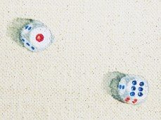"""""""Game II"""" - DETAIL 3, oil on canvas - 81 x 81 cm, 2010"""
