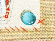 """""""Game II"""" - DETAIL 7, oil on canvas - 81 x 81 cm, 2010"""