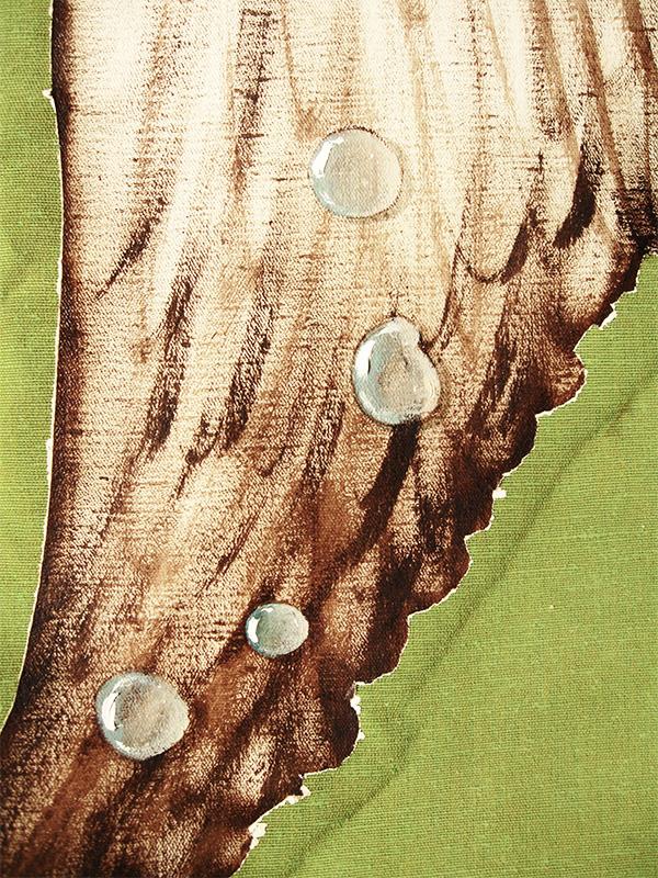 """""""Heartbreaker"""" - DETAIL 1, oil on canvas - 157 x 149 cm, 2012"""