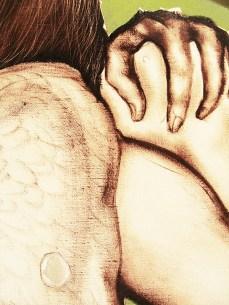 """""""Heartbreaker"""" - DETAIL 2, oil on canvas - 157 x 149 cm, 2012"""