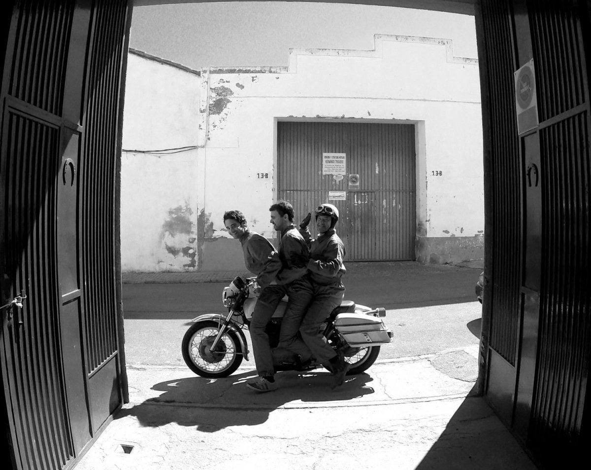 El taller de Donkey Motorbikes