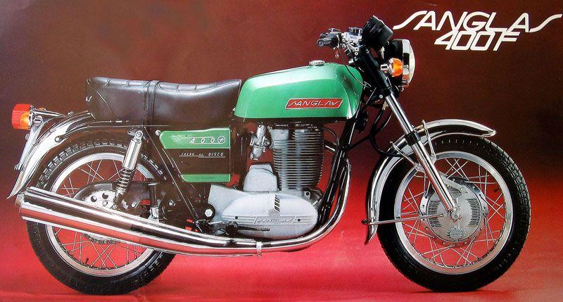 Sanglas 400F - Donkey Motorbikes