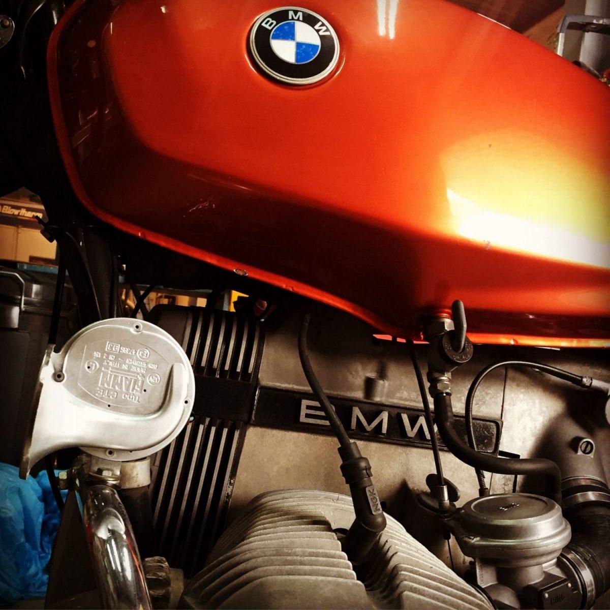 Restauración de BMW R45