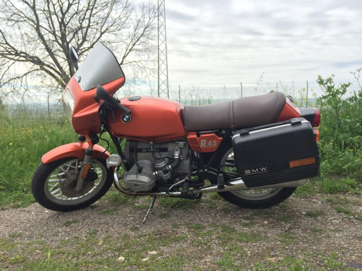 Restauración BMW R45