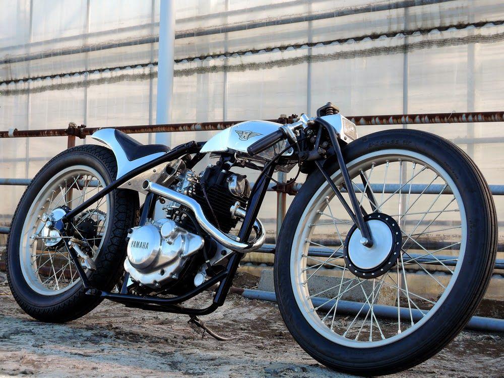 "Yamaha SR 125 ""Material Woman"" -Ask Motorcycles"