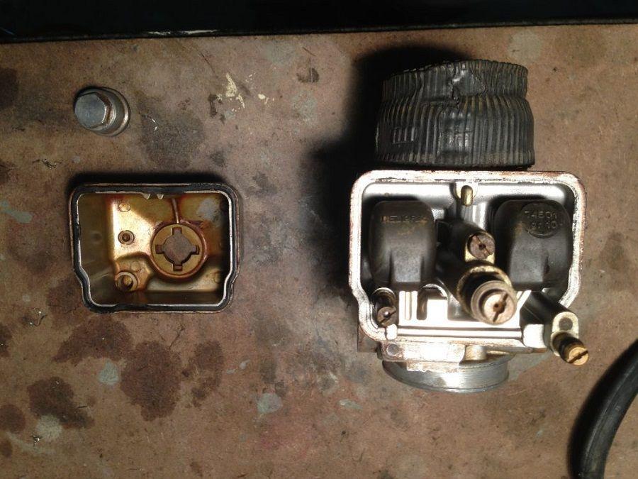 Restauración carburador Ducati Forza. cómo funciona un carburador