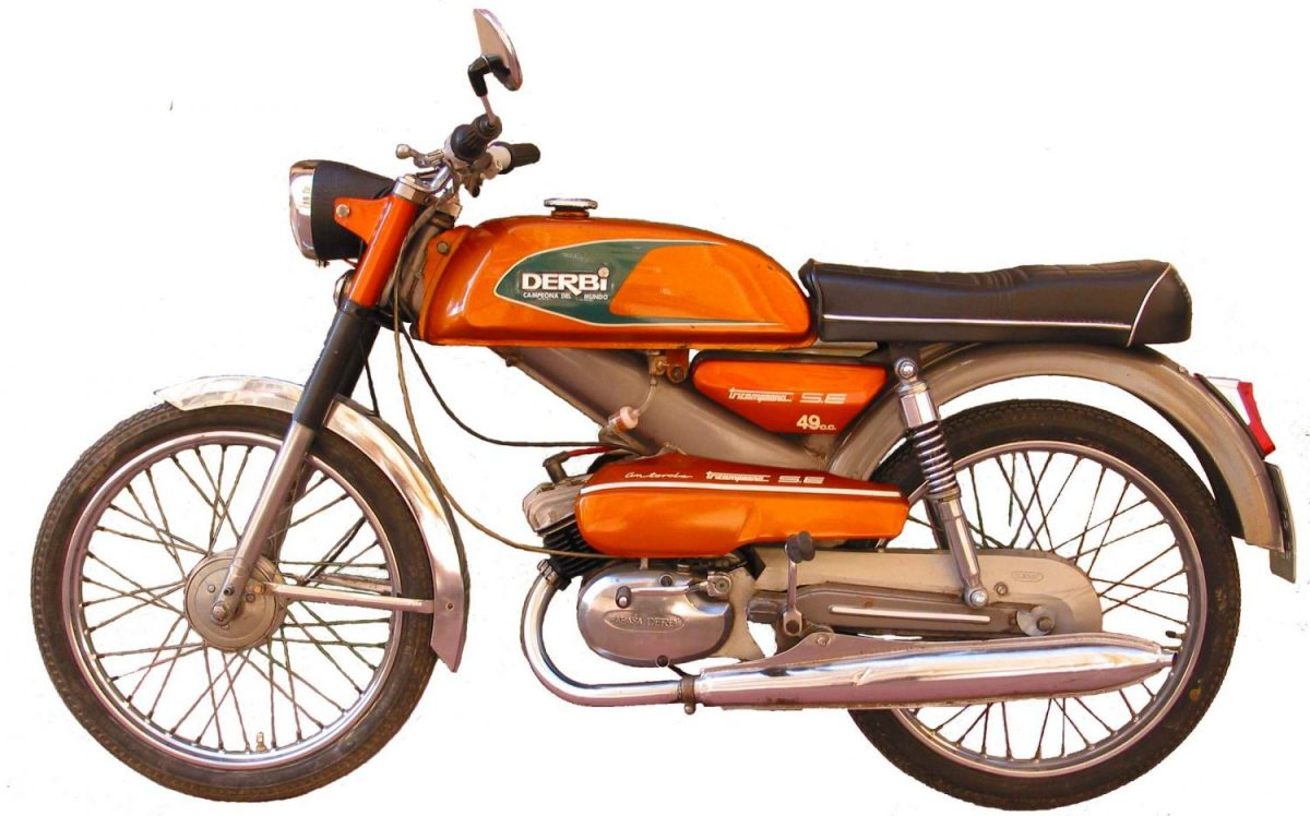 La Historia De La Mítica Derbi Antorcha Donkey Motorbikes