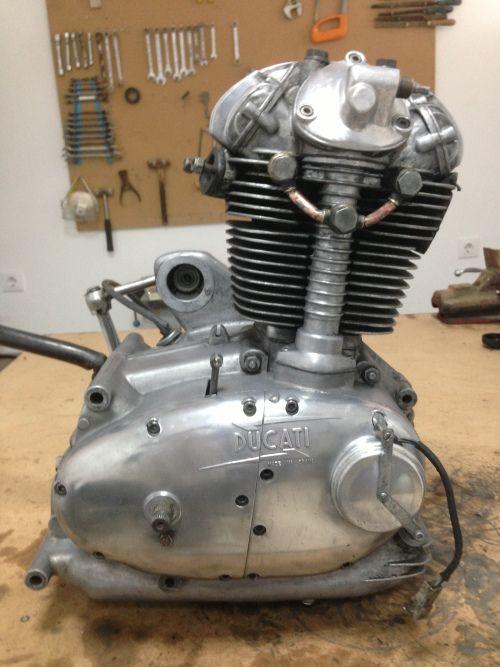 Restauración Ducati Forza