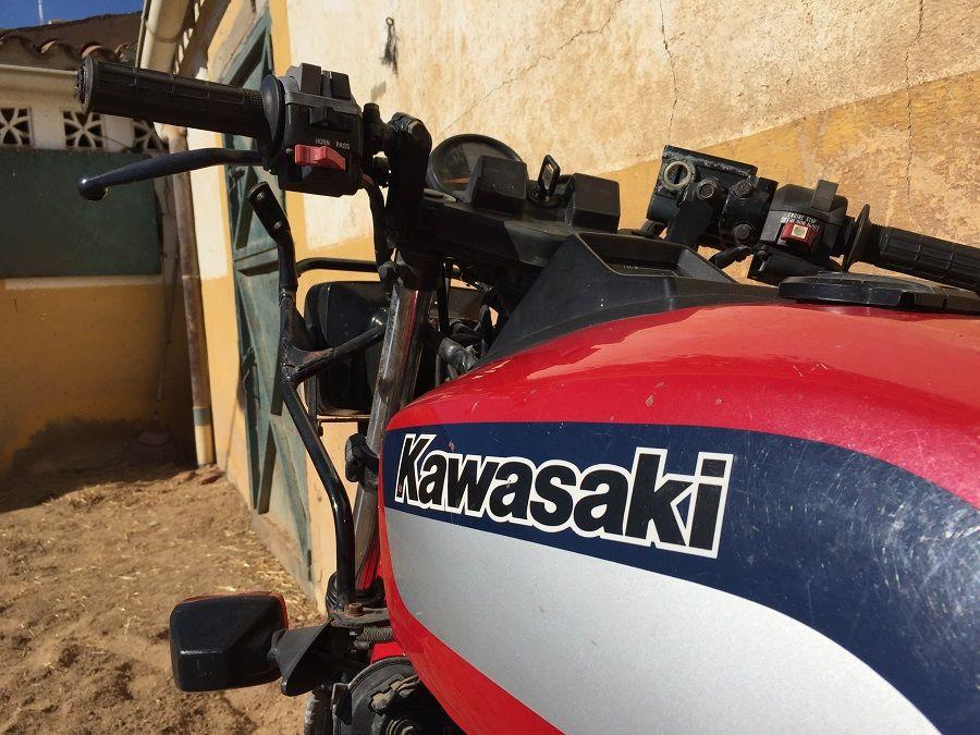 Gitana - Restauración Kawasaki Z400F-II