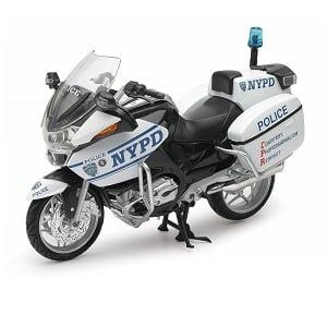 Miniatura moto BMW r1200rt NYPD